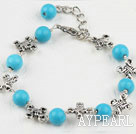 turquose bracelet with extendable chain