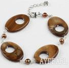 Wholesale pearl shell bracelet
