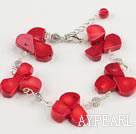 coral bracelet