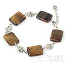 Wholesale tiger eye bracelet with extendable chain