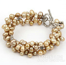 Wholesale 7 inches 5-8mm renewable pearl bracelet