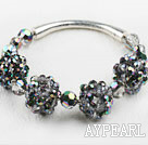 Wholesale gorgeous shinning crystal bangle bracelet