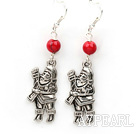 Wholesale Simple Design Alaqueca and Santa Claus' Shape Xmas/ Christmas Earrings
