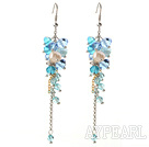 Wholesale Assorted Manmade Crystal and Freshwater Pearl Dangle Earrings
