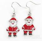 Wholesale Fashion Style Santa Claus' Shape Xmas/ Christmas Earrings
