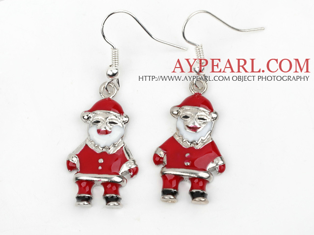 Fashion Style Santa Claus' Shape Xmas/ Christmas Earrings
