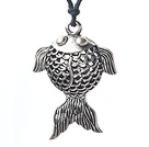 lovely 17.7 inches goldfish pendant necklace with extendable chain