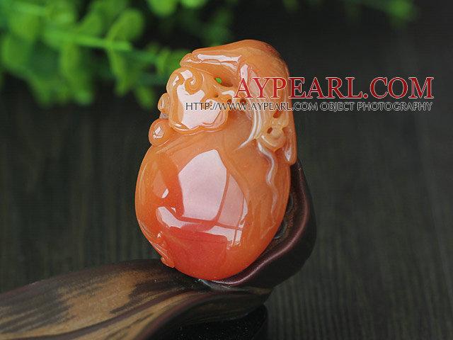 China Style A Grade Huanglong Jade Pendant
