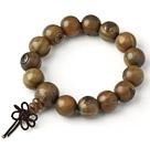Nice Simple Style Nutral Round Palo Santo Rosary Beads Bracelet