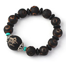 Fashion Natural Weathering of Coatings Tibetan Skyeye Rosary Beads Bracelet