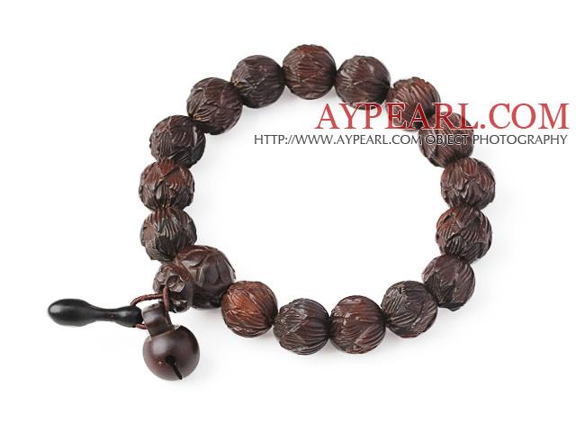 Fashion Amulet Jujube Wood And Lotus Rosary Beads Bracelet