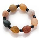 Special Irregular Shape Agate Stones Bracelet(Small Beads Design / Large Beads Design )