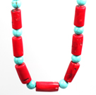 Fancy Style Assorted Multi Color Crystal Necklace