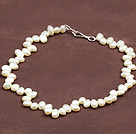 Special Design Natural White Freshwater Pearl Necklace