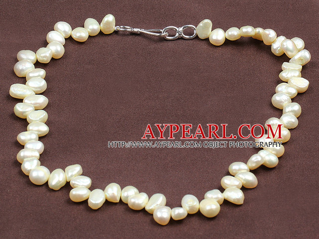 Special Design Natural Champagne Freshwater Pearl Necklace