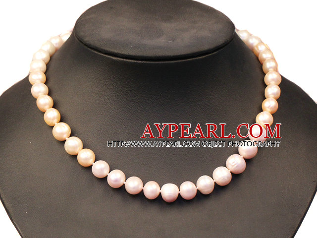 Fashion Oval Shape Crystallized Agate Necklace with Big Lobster Clasp