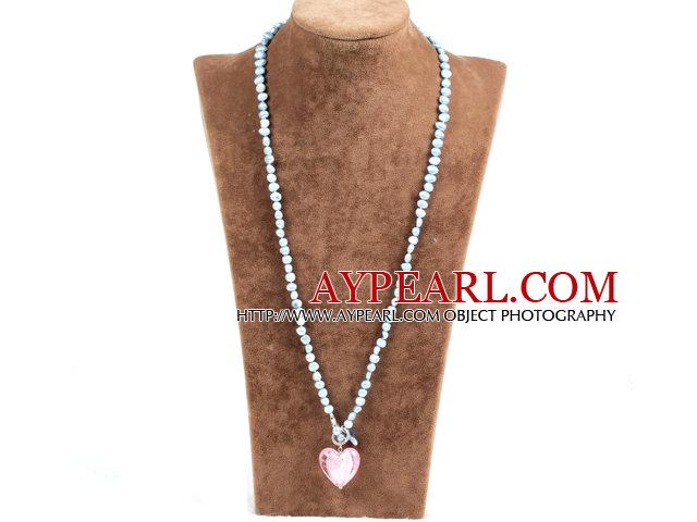 collier avec pendentif glaze mode perle naturelle de. Black Bedroom Furniture Sets. Home Design Ideas