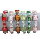 6 PCS Beautiful Multi Color Natural Pearl Cube Colored Glaze Bead Bracelet (Random Color)