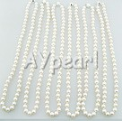 Wholesale pearl necklace(6 pcs)