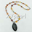 Wholesale indian agate necklace