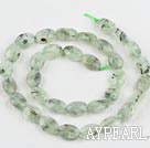 Prehnite beads,8*12mm egg,Sold per 15.75-inch strands