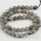 Flashing Stone beads,8mm round, faceted,Sold per 15.75-inch strands
