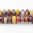 yellow opal beads,6*10mm abacus,faceted,Sold per 15.75-inch strands