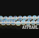 moonstone beads,6mm round, sold per 15.57-inch strand