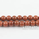 gold sand stone beads,6mm round ,sold per 15.75-inch strand