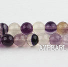 rainbow fluorite beads,8mm round, sold per 15.75-inch strand