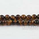 tigereye beads,6mm round,sold per 15.75-inch strand