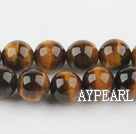 tigereye beads,10mm round,sold per 15.75-inch strand