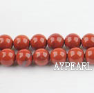red gem beads,8mm round,sold per 15.75-inch strand