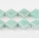 amazon beads,12mm diagonal,Sold per 15.75-inch strands