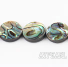 paua shell beads,16mm flat oval,Sold per 15.75-inch strands