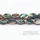 paua shell beads,8*10mm egg,Sold per 15.75-inch strands