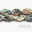 paua shell beads,12*16mm egg,Sold per 15.75-inch strands
