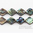 paua shell beads,10mm diagonal,Sold per 15.75-inch strands