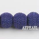 bali beads ,15*18mm,dark blue,Sold per 13.39-inch strand