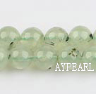 Prehnite beads,10mm round,Sold per 15.75-inch strands