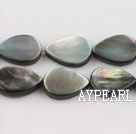 black lip shell beads,10*14mm teardrop,straight hole,sold per 15.75-inch strand