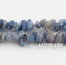 Chip Stone Beads, 3*5mm blue mineral, Sold per 35.4-inch strand