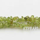 Peridot chips , 3*5mm,sold per 35.43-inch strand