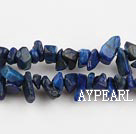 lapis chips ,3*7mm, sold per 35.43-inch strand