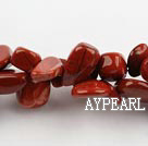 red gem  beads,10*18mm,top drilled , sold per 16.14-inch strand