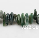 Agate Gemstone Beads, 4*21 little grass, long tooth, hole shape, Sold per 15.7-inch strand