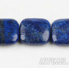 Lapis Gemstone Beads, Blue, 5*20*40mm fillet square,Sold per 15.75-inch strands