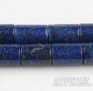 Lapis Gemstone Beads, 10*15mm cylinder shape,Sold per 15.75-inch strands