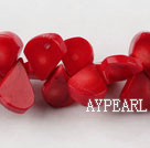 coral beads,12*17mm sun flower seeds,red,about 8 strands/kg