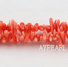 coral beads,2*8mm plantlet,jacinth,about 59 strands/kg